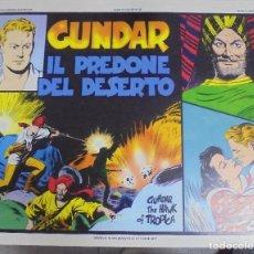 Cómics: TEBEO ITALIANO. SERIE FLASH GORDON. ALBO A COLORI Nº 28. GUNDAR IL PREDONE DEL DESERTO. Lote 219913155