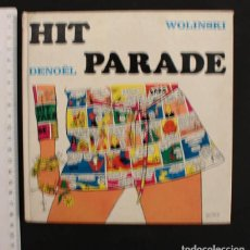 Cómics: HIT PARADE WOLINSKI DENOËL 1969, TAPA DURA 117 PAGINAS COMIC EN FRANCES 18,50 X 18,50 CM. Lote 104894491