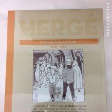 Cómics: TINTIN LE FEUILLETON INTEGRAL 9 - 1940-1943 HERGÉ (EN FRANCÉS). Lote 105896618