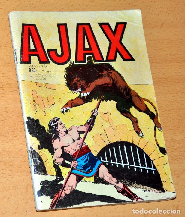 EL JABATO EN FRANCÉS - CON EL JABATO EN PORTADA - AJAX 1ª SERIE - Nº 5 - ABRIL 1965 - FRANCIA (Tebeos y Comics - Comics Lengua Extranjera - Comics Europeos)