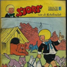 Cómics: SJORS VAN DE REBELLENCLUB - COMIC NEERLANDES - LOTE DE 35 NUMEROS AÑOS 1963 A 1968 - VER DESCRIPCION. Lote 106646047