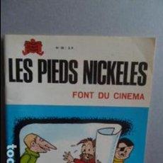 Cómics: LES PIEDS NICKELES -FONT DU CINEMA -N.58 -EN FRANCES -. Lote 107333307