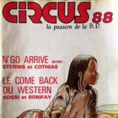 Cómics: CIRCUS Nº 88 (EN FRANCÉS). Lote 107779347