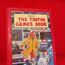 Cómics: THE TINTIN GAMES BOOK.LIBRO DE JUEGOS. EDITORIAL METHUEN. IDIOMA INGLÉS.1°EDICIÓN 1986. Lote 108463735