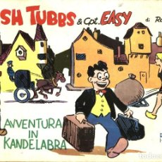 Cómics: WASH TUBBS & CPT. EASY, DE ROY CRANE. STRIPS 1-1-1929 A 3-7-1929 (COMIC ART, 1974) EN ITALIANO. Lote 109383799