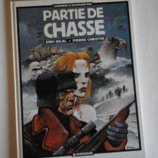 Cómics: PARTIE DE CHASSE -PARTIDA DE CAZA- DE ENKI BILAL. CLÁSICO MODERNO; ORIGINAL FRANCÉS.. Lote 109719423