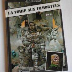 Cómics: LA FERIA DE LOS INMORTALES, DE ENKI BILAL. ORIGINAL EN FRANCÉS - LE FOIRE AUX INMORTELS-. Lote 109720991