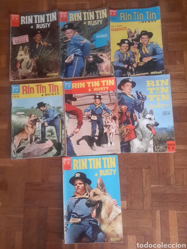 COMIC DE RIN TIN TIN & RUSTY DE 1961 EN FRANCES (Tebeos y Comics - Comics Lengua Extranjera - Comics Europeos)