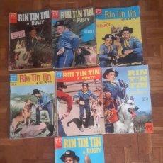 Cómics: COMIC DE RIN TIN TIN & RUSTY DE 1961 EN FRANCES. Lote 110320955