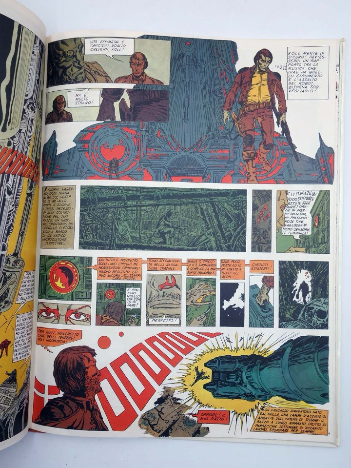 Cómics: IL VIAGGI FANTASTICI DI LONE SLOANE (Philippe Druillet) Arnoldo Mondadori, 1973 - Foto 5 - 110470590