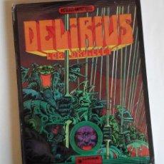 Cómics: DELIRIUS, DE LOB DRUILLET. ALBUM DE LA SAGA LONE SLOANE. ORIGINAL FRANCÉS, EDICIÓN DE 1973. Lote 110607615