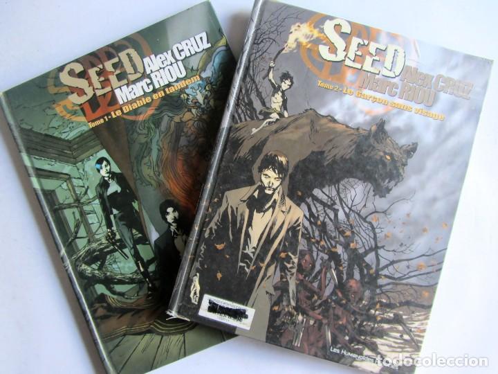 SEED TOME 1 TOME 2 ALEX CRUZ MARC RIOU LES HUMANOÍDES ASSOCIÉS (Tebeos y Comics - Comics Lengua Extranjera - Comics Europeos)