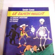 Cómics: LUCKY LUKE - LE RANCH MAUDIT - FRANCES - TAPA DURA - EDIT ED DARGAUD - 1986. Lote 110779455