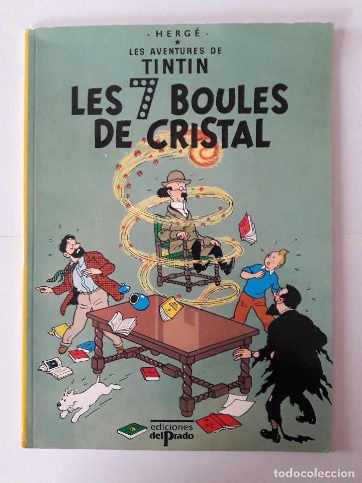 TINTIN. LES 7 BOULES DE CRISTAL. T.1 (Tebeos y Comics - Comics Lengua Extranjera - Comics Europeos)