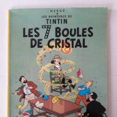 Cómics: TINTIN. LES 7 BOULES DE CRISTAL. T.1. Lote 110932591