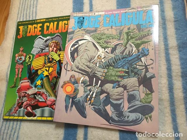 JUDGE DREDD - JUDGE CALIGULA BOOK 1 & 2 - WAGNER, BOLLAND & MCMAHON (Tebeos y Comics - Comics Lengua Extranjera - Comics Europeos)