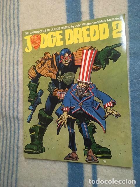 JUDGE DREDD 2 - THE CHRONICLES OF JUDGE DREDD - JOHN WAGNER Y MIKE MCMAHON (Tebeos y Comics - Comics Lengua Extranjera - Comics Europeos)