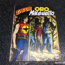 Cómics: ZAGOR Nº 377 ORO MALEDETTO ( EDICION EN ITALIANO ). Lote 112737599