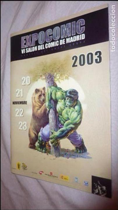 Cómics: EXPOCOMIC 2003 MADRID. REVISTA OFICIAL COMPLETA. EXCELENTE ESTADO - Foto 8 - 94414326