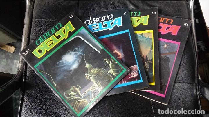 ALBUM DELTA ( 4 TOMOS ) (Tebeos y Comics - Comics Lengua Extranjera - Comics Europeos)