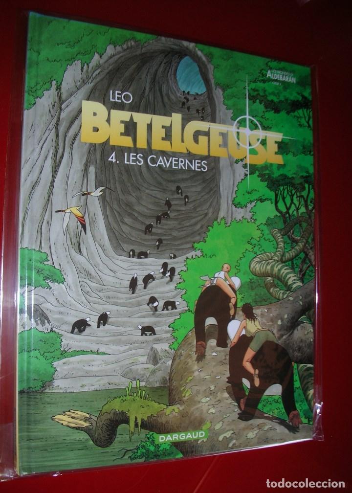 LEO, BETELGEUSE 4. LES CAVERNES LES MONDES D'ALDEBARAN, CYCLE 2 DARGAUD .NEUF . NUEVO,NUNCA LEÍDO. (Tebeos y Comics - Comics Lengua Extranjera - Comics Europeos)