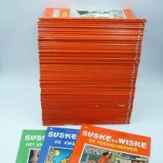 Cómics: SUSKE EN WISKE. GRAN LOTE DE 69 DIFERENTES (WILLY VANDERSTEEN) 1996. LÍNEA CLARA. EN BELGA. Lote 113595022