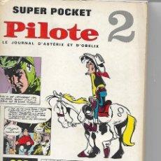 Comics : SUPER POCKET - PILOTE Nº 2 - COLLECTIF (1968). Lote 114059759