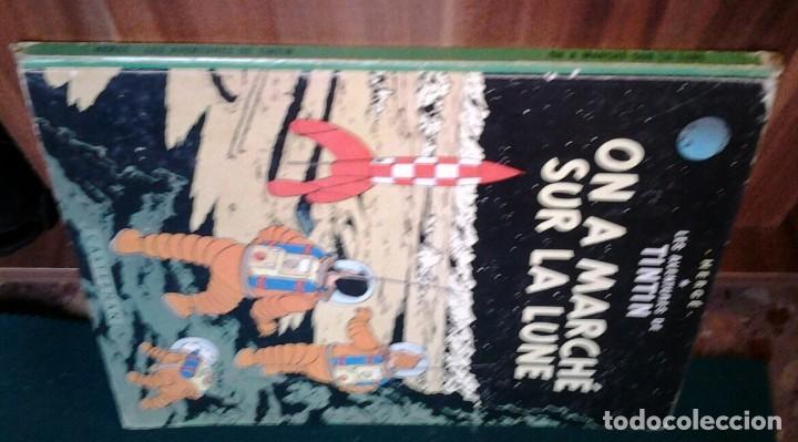 Cómics: TINTIN ON A MARCHÉ SUR LA LUNE ED.1966.CASTERMAN HERGÉ. - Foto 5 - 114423899