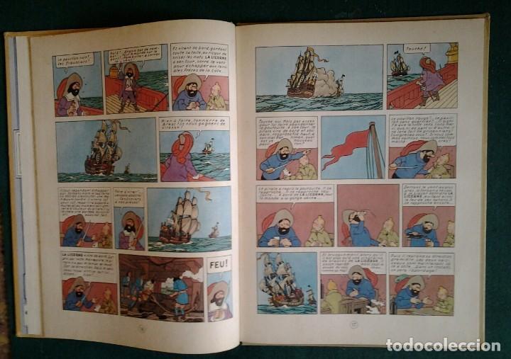Cómics: TINTIN LE SECRET DE LA LICORNE ED.1965.CASTERMAN HERGÉ. - Foto 4 - 114427455