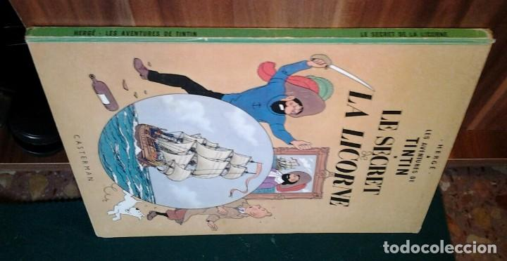Cómics: TINTIN LE SECRET DE LA LICORNE ED.1965.CASTERMAN HERGÉ. - Foto 5 - 114427455