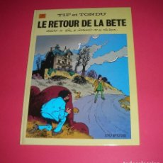 Cómics: TILLIEUX TIF ET TONDU LE RETOUR DE LA BÈTE NO. 25 DUPUIS 1987 NUEVO, NUNCA LEÍDO.NEUF. Lote 114515011
