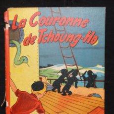 Cómics: LES AVENTURE DE MARTIN LE MALIN - LA COURONNE DE TCHOUNG, 1957. EDICIÓN FRANCESA . Lote 115043115