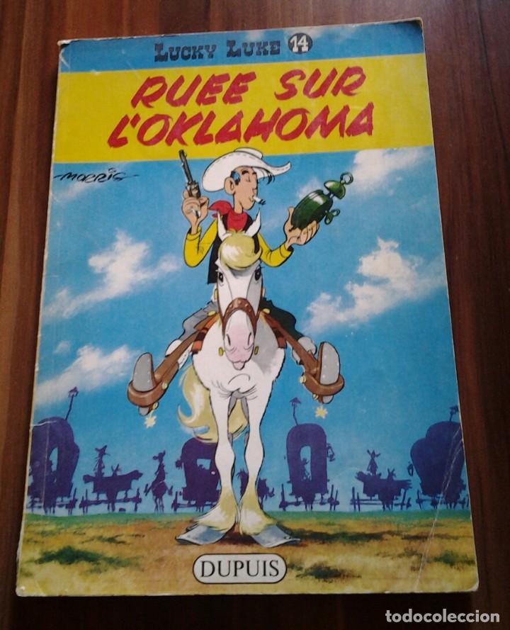 LUCKY LUKE RUEE SUR L'OKLAHOMA ED 1965 DUPUIS,MORRIS-GOSCINY.BELGICA (Tebeos y Comics - Comics Lengua Extranjera - Comics Europeos)