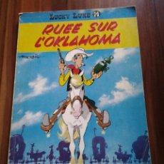 Cómics: LUCKY LUKE RUEE SUR L'OKLAHOMA ED 1965 DUPUIS,MORRIS-GOSCINY.BELGICA. Lote 115290811