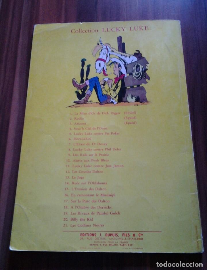 Cómics: LUCKY LUKE RUEE SUR LOKLAHOMA ED 1965 DUPUIS,MORRIS-GOSCINY.BELGICA - Foto 2 - 115290811