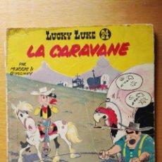 Cómics: LUCKY LUKE LA CARAVANE N° 24 DUPUIS 1968 EN FRANCÉS. Lote 115388758