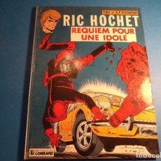 Cómics: RIC HOCHET. REQUIEM POUR UNE IDOLE. EDITIONS DU LOMBARD. EN FRANCES. (H-2). . Lote 116259059