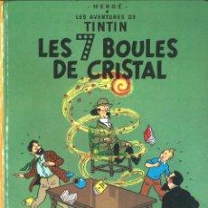 Cómics: TINTIN. LES 7 BOULES DE CRISTAL. CASTERMAN.AÑOS 80. Lote 116649523