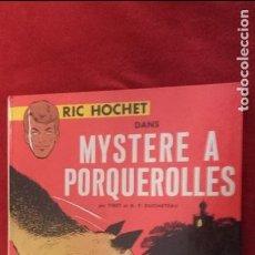 Cómics: RIC HOCHET - MYSTERE A PORQUEROLLES - TIBET & DUCHATEAU - ED. LOMBARD - CARTONE - EN FRANCES. Lote 118263143