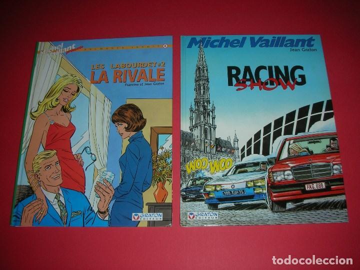 MICHEL VAILLANT 4- LES LABOURDET 2A. LA RIVALE ET 46- RACING SHOW JEAN/ FRANCINE GRATON . NUEVOS (Tebeos y Comics - Comics Lengua Extranjera - Comics Europeos)
