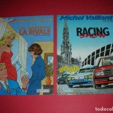 Cómics: MICHEL VAILLANT 4- LES LABOURDET 2A. LA RIVALE ET 46- RACING SHOW JEAN/ FRANCINE GRATON . NUEVOS . Lote 118411691