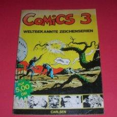 Cómics: COMICS 3. WELTBEKANNTE ZEICHENSERIEN 128PGS CARLSEN 1973 . STEVE CANYON FLASH GORDON , ETC. . Lote 118695179