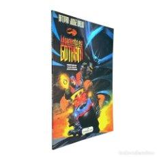 Comics : BATMAN / JUDGE DREDD / JULGAMENTO EM GOTHAM (PORTUGUÉS) MERIBÉRICA 94 ( JOHN WAGNER Y SIMON BISLEY). Lote 118946891