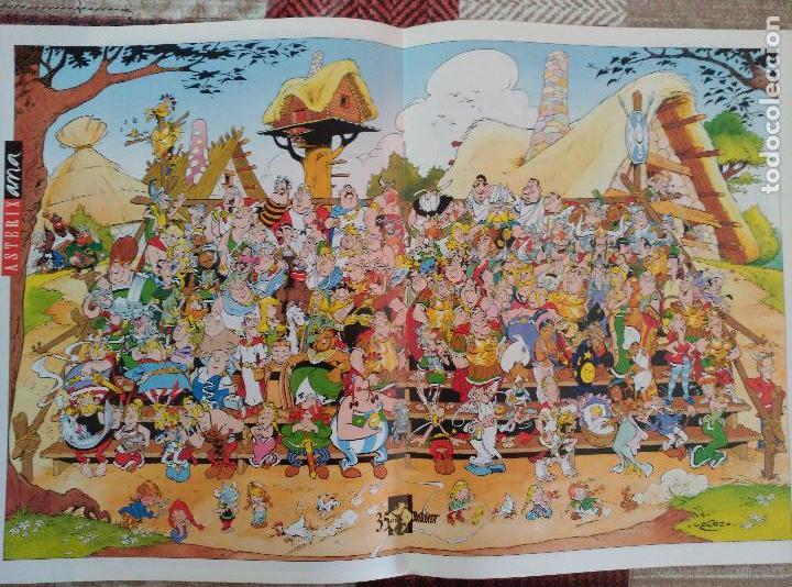 "Cómics: ASTERIX. ESPECIAL 35 ANIVERSARIO. JOURNAL EXCEPTIONNEL. ""ÇA, C'EST UN ANNIVERSAIRE!"" 1994 - Foto 4 - 119287427"