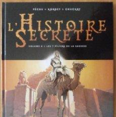 Cómics: L'HISTOIRE SECRETE EDITORIAL DELCOURT TOMO 8 LES 7 PILIERS DE LA SAGESSE. Lote 119468827