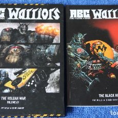 Cómics: ABC WARRIOS - THE VOLGAN WAR - THE BLACK HOLE - PAT MILLS (2009). Lote 119611111