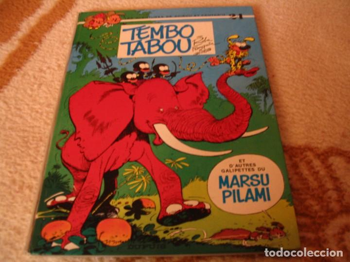 LES AVENTURES DE SPIROU ET FANTASIO Nº 24 MARSUPILAMI EDICIÓN ORIGINAL BELGA FRANQUIN DUPUIS (Tebeos y Comics - Comics Lengua Extranjera - Comics Europeos)