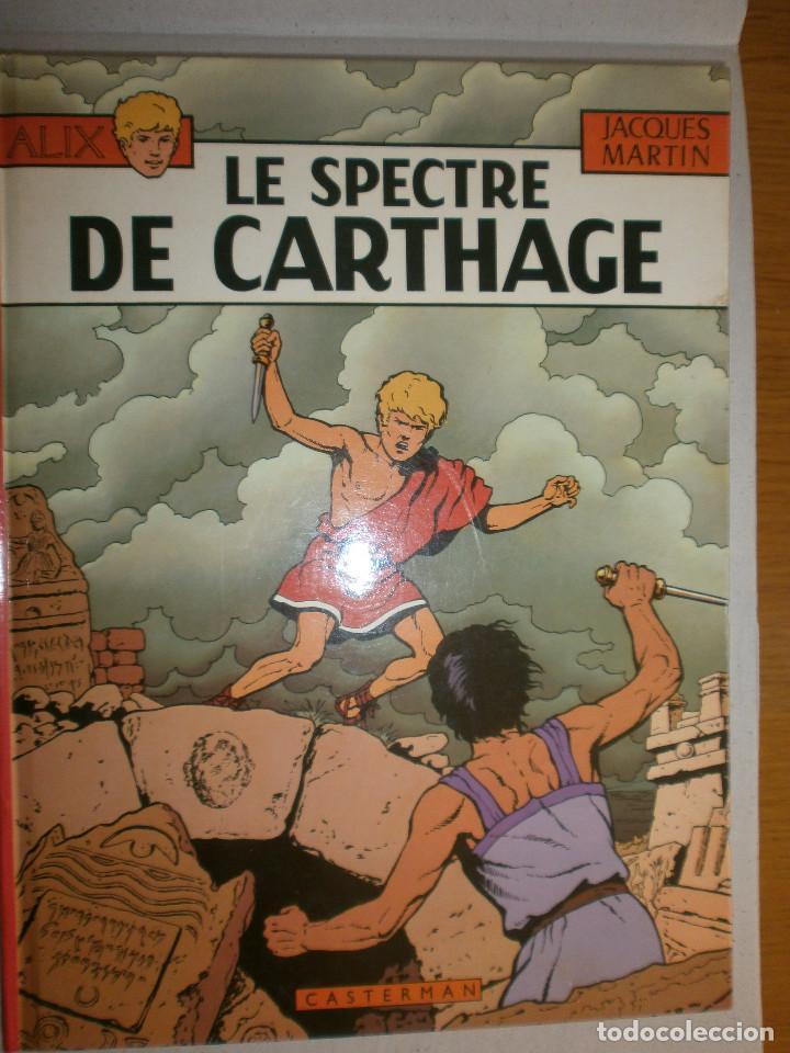 ALIX ' LE SPECTRE DE CARTAGHE ' (Tebeos y Comics - Comics Lengua Extranjera - Comics Europeos)