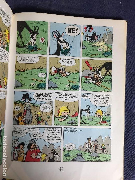 Cómics: LA FLÛTE À SIX SCHTROUMPFS JOHAN ET PIRLOUIT PEYO DUPUIS 1965 LOS PITUFOS CÓMIC francés 30X21,5CMS - Foto 9 - 120912699