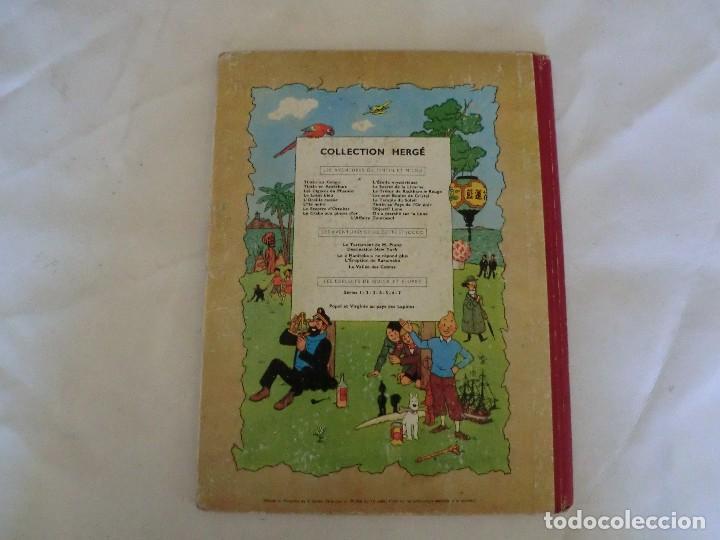 Cómics: LES AVENTURES DE TINTIN LE CRABE AUX PINCES D´OR. ED. 1957 B23 Casterman.Hergé.Francia.. - Foto 2 - 121234207